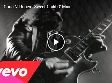 Bir Guns klasiği: Sweet Child O'mine ve Türkçe sözleri